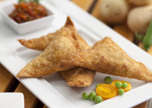 Country Magic Curry Vegetable Samosas by The Kilted Chef