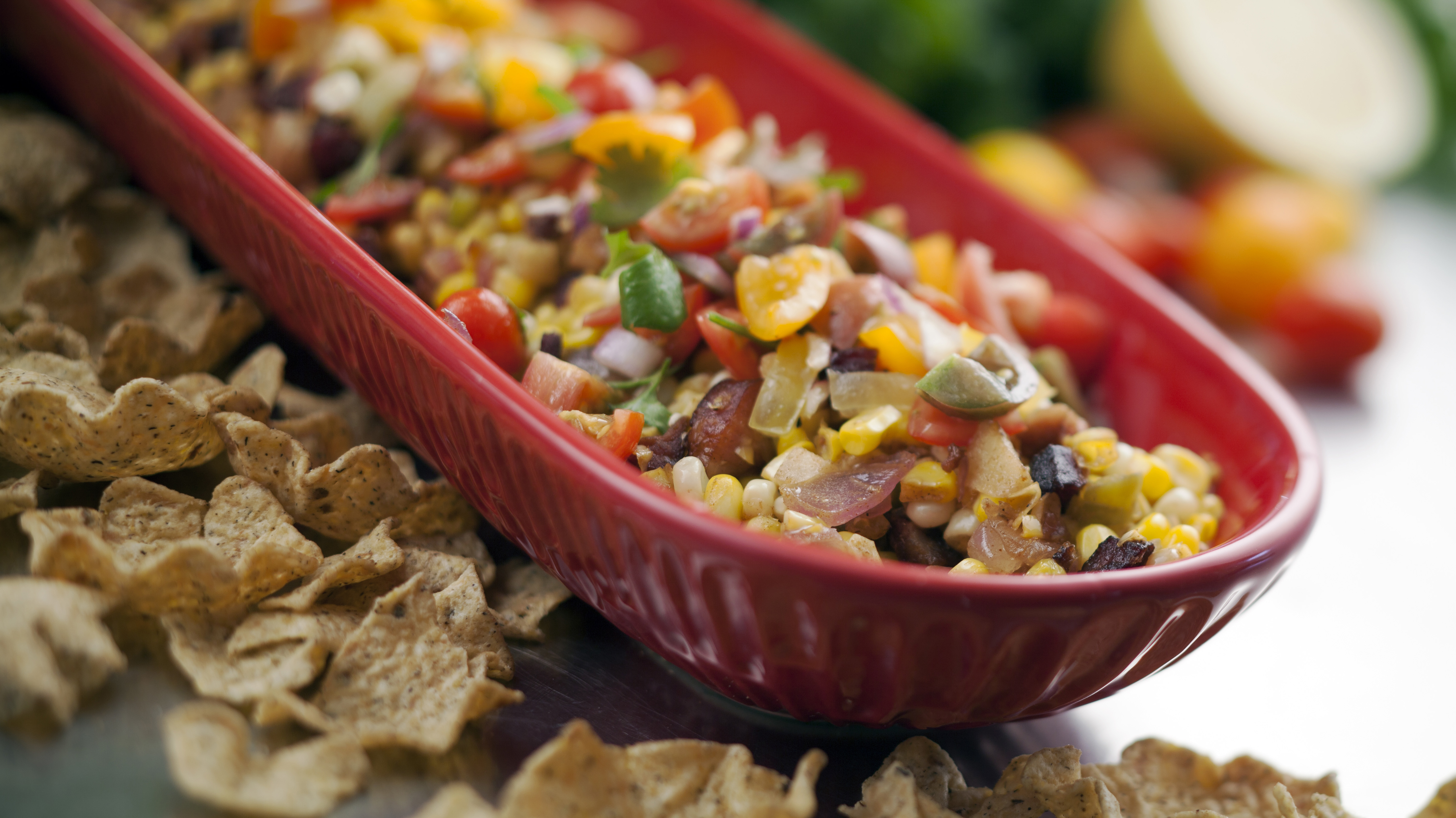Country Magic Succotash and Fresh Tomato Salsa Dip by The Kilted Chef