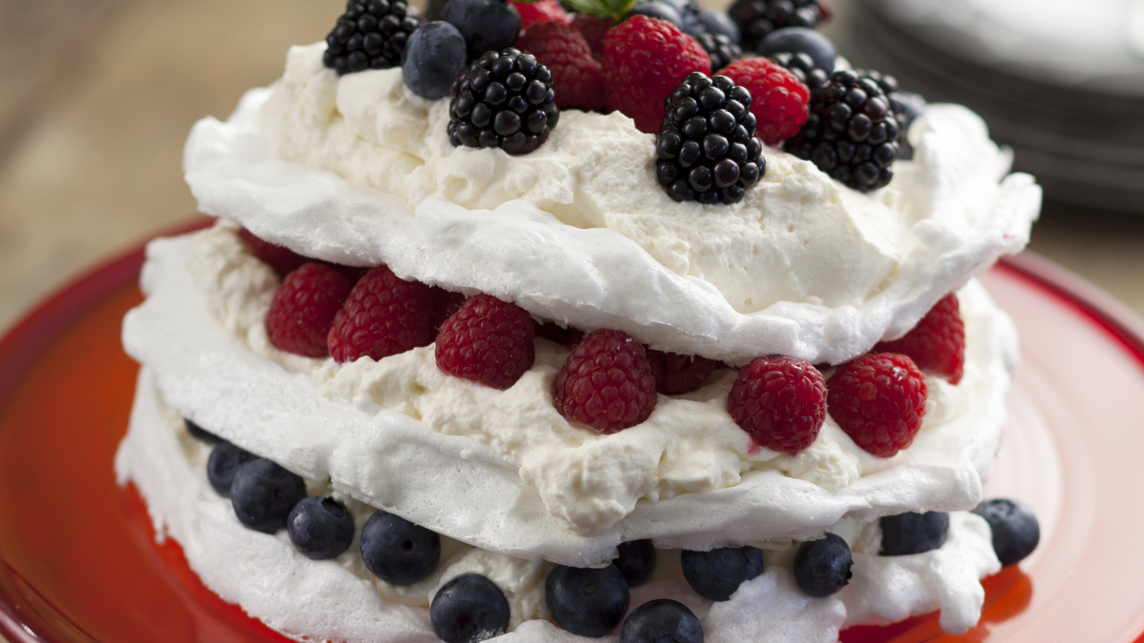 Country Magic Summer Berry Pavlova by The Kilted Chef