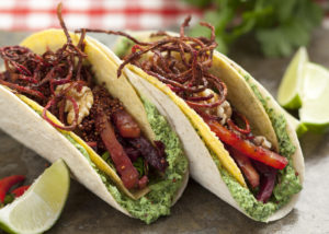 Country Magic Crunchy Beet Taco by The Kilted Chef
