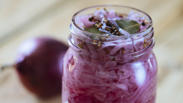 Country Magic pickled onions red
