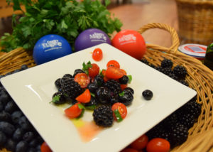 Country Magic summer berry salad