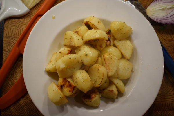 country magic lemon greek potatoes