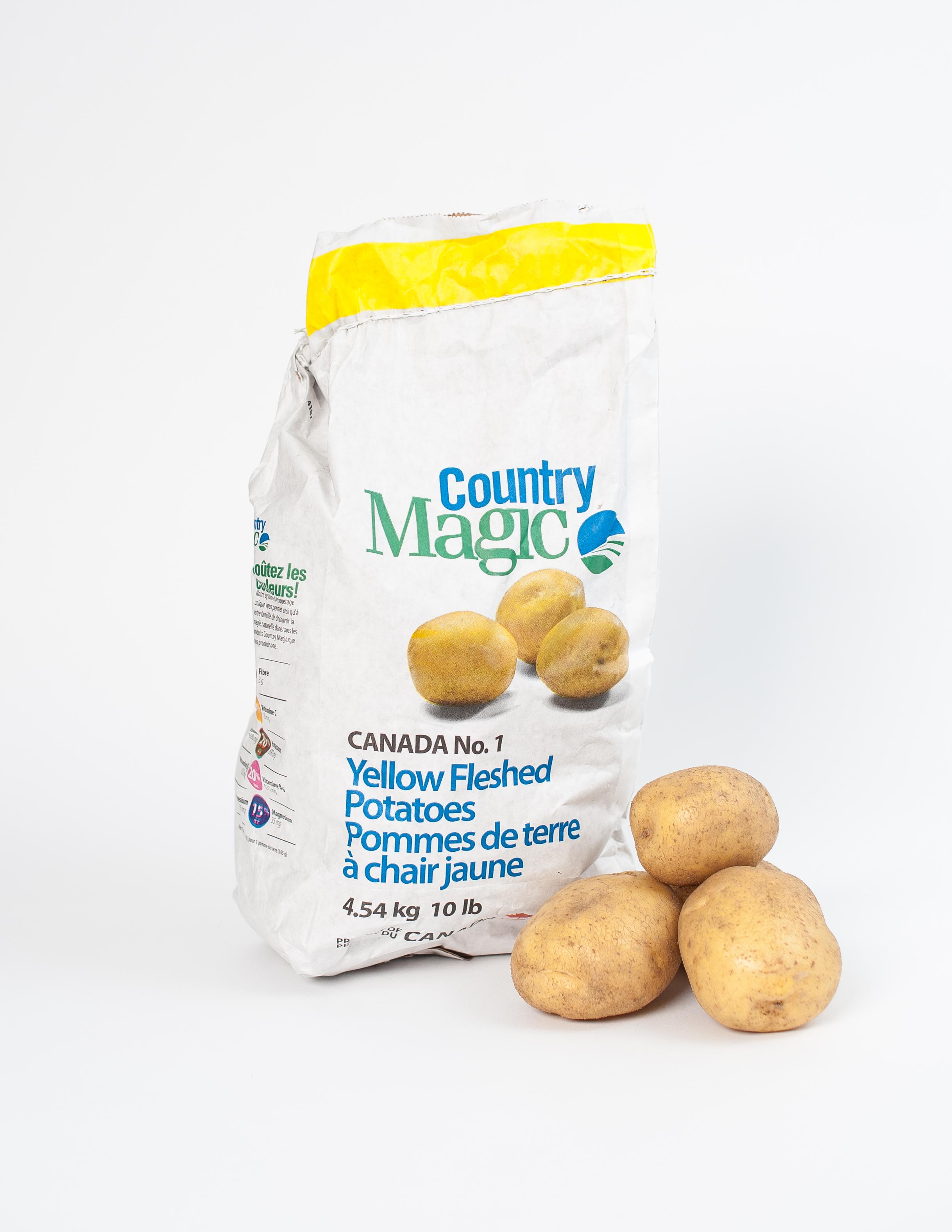 Country Magic Yellow Potatoes